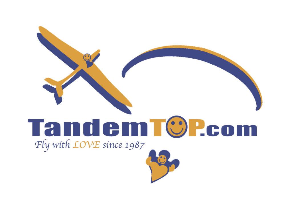 Logo - TandemTOP parapente Meribel Courchevel