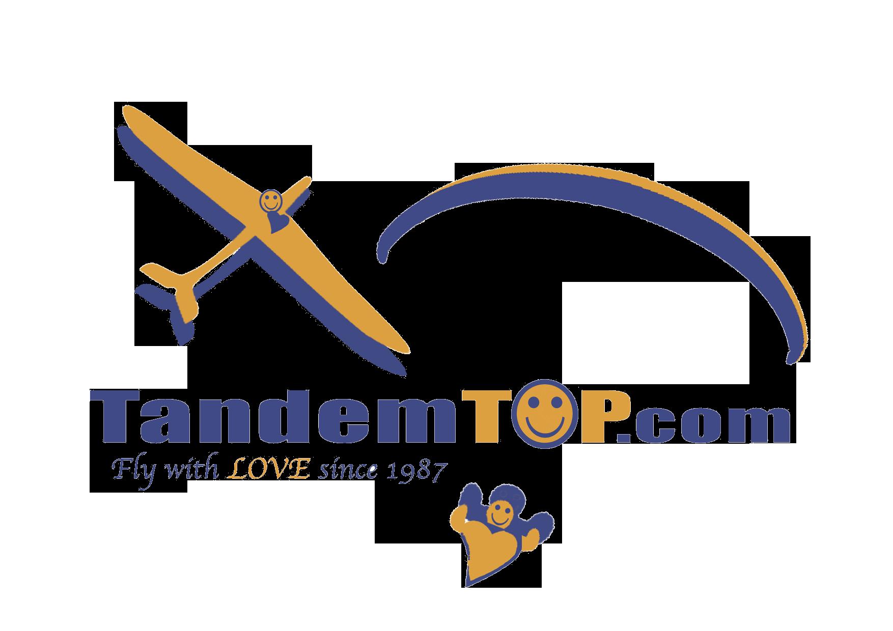 Logo TandemTOP Parapente Planeur