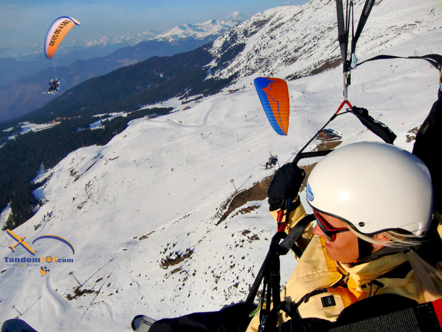 Parapente Meribel Courchevel